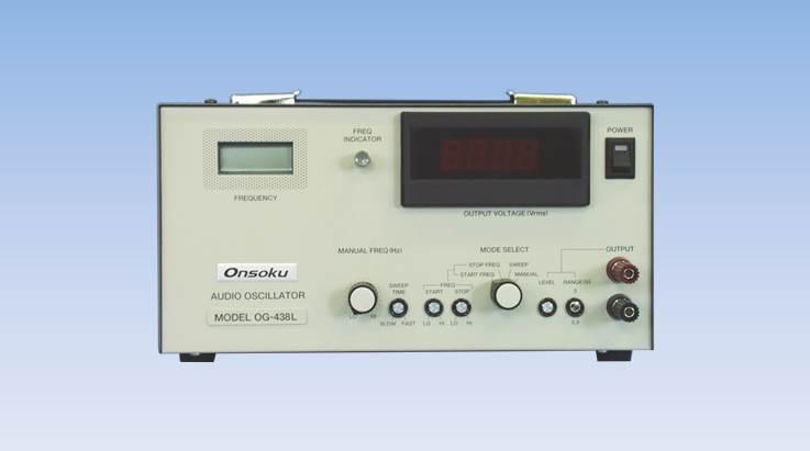 og 438l audio oscillators onsoku web site english. Black Bedroom Furniture Sets. Home Design Ideas
