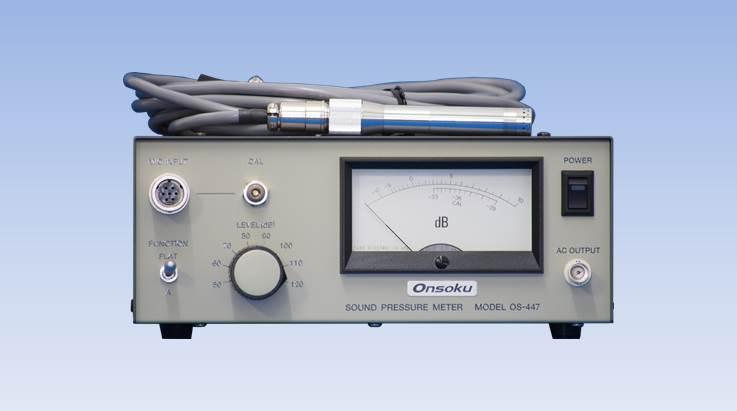 Sound Pressure Level Meter Onsoku Web Site English Os 447